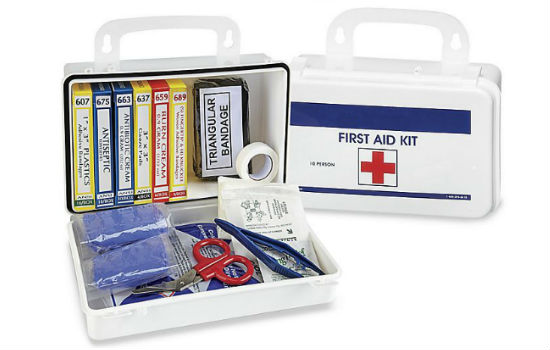Eevelle Deluxe First Aid Kit 10 Person
